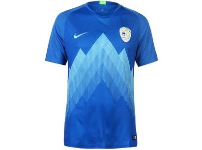 Nike Slovenia Away Shirt 2018