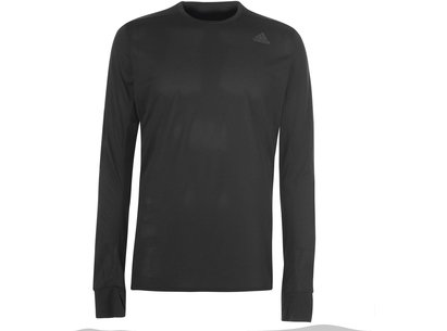adidas Snova Long Sleeve Running Top Mens