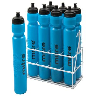 Mitre Metallic Crate with 8 x 1ltr Water Bottles