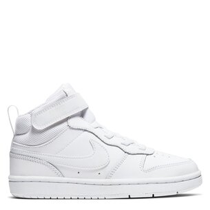 Nike Court Borough Mid Top Trainers Child Boys