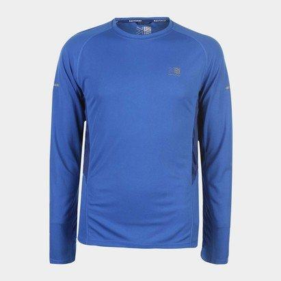 Karrimor Long Sleeved Running T Shirt Mens