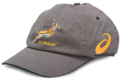 Asics South Africa Springboks Rugby Cap Stone/Bottle