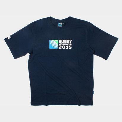 Canterbury RWC 2015 Logo Rugby Kids T-Shirt