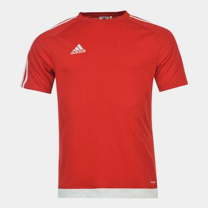 adidas 3 Stripe Sereno T-Shirt Mens