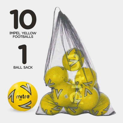 Mitre Impel Football 10 Pack
