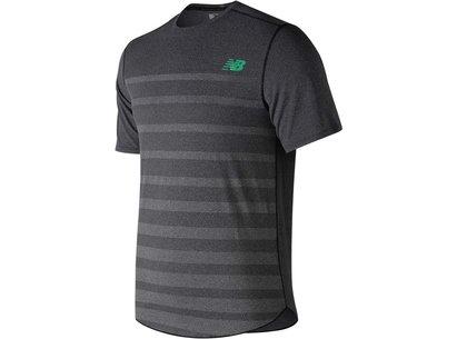 New Balance Speed Short Sleeve T Shirt Mens