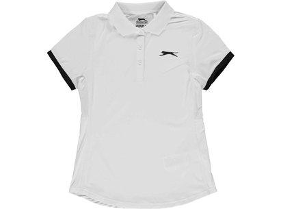 Slazenger Court Polo Shirt Junior Girls
