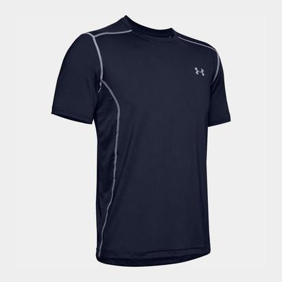 Under Armour Raid Short Sleeve Training T Shirt Mens