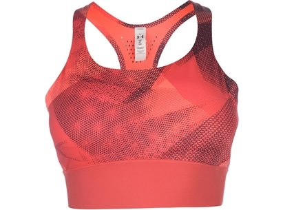Under Armour Breathelux Mid Impact Sports Bra Ladies