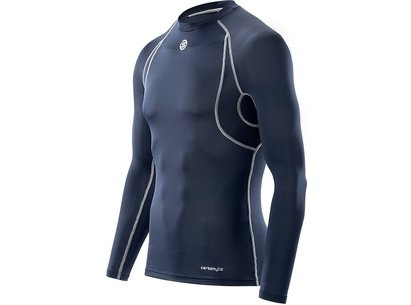 Carbonyte Functional L/S Round Neck Top