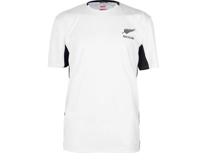 Team Rugby 2019 New Zealand Poly T Shirt Mens