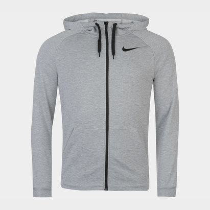 Nike Dri FIT Mens Full Zip Training Hoodie