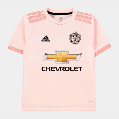 adidas Manchester United Away Shirt 2018 2019 Junior