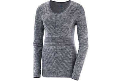 Salomon Elevate Long Sleeve T Shirt Ladies