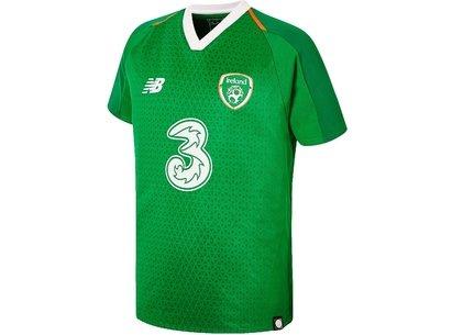 New Balance Ireland Home Shirt 2018 2019 Junior