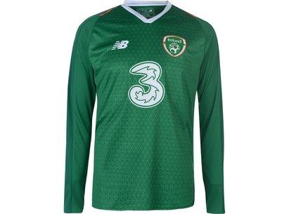 New Balance Ireland Home Long Sleeve Jersey Mens