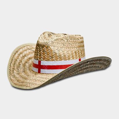 Sports Graphics England Straw Cowboy Hat