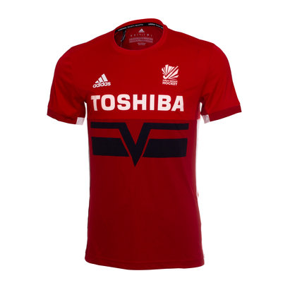 adidas Great Britain Hockey 1998 T Shirt Mens