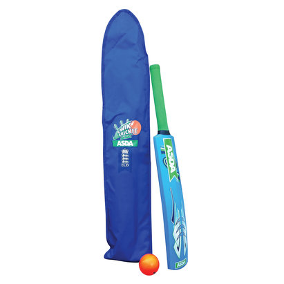 Gray-Nicolls Kwik Cricket Bat and Ball Set - 6-8 years