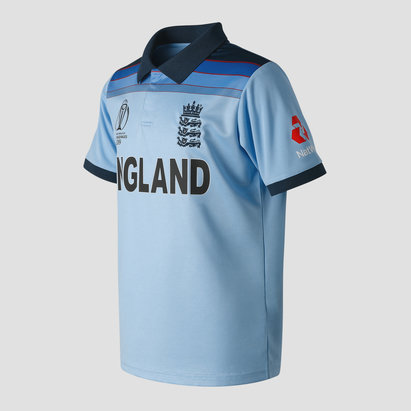 New Balance England Cricket WC19 Junior Replica Shirt