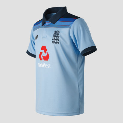 New Balance England Cricket 2019/20 Junior ODI Replica Shirt