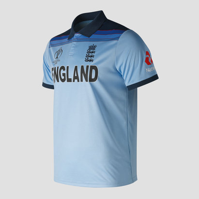 New Balance England Cricket WC19 Womens Replica Shirt