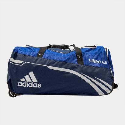 adidas Libro 4.0 Junior Cricket Wheelie Bag
