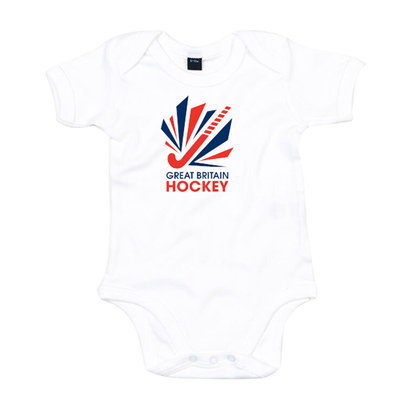 GB Hockey Big Logo Baby Grow