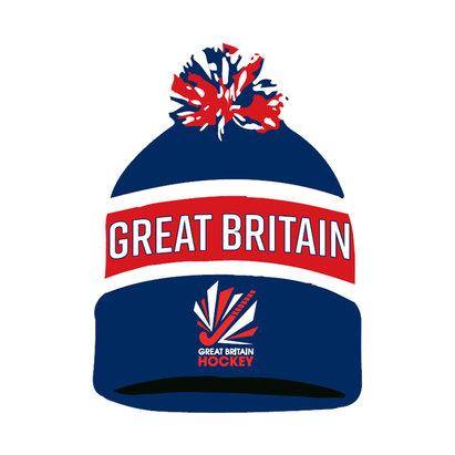 GB Hockey Logo Bobble hat