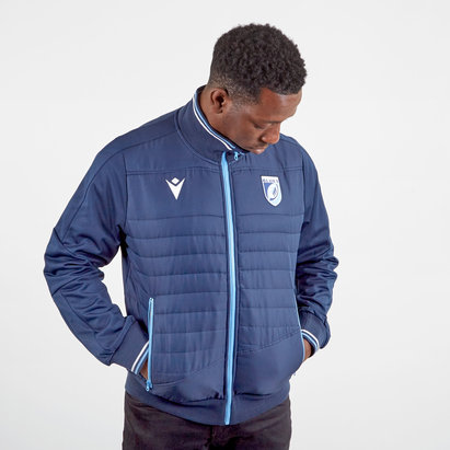 Macron Cardiff Blues 2019/20 Players Anthem Jacket