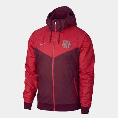 Nike FC Barcelona Windrunner Woven Jacket Mens