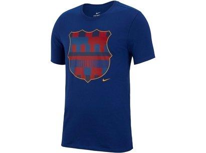 Nike FC Barcelona 20 Years T Shirt Mens