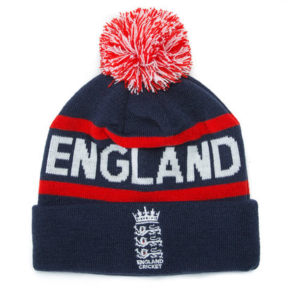 England Cricket Rex Bobble Hat