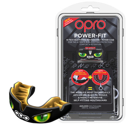 Opro Power-Fit Agrression - Eyes
