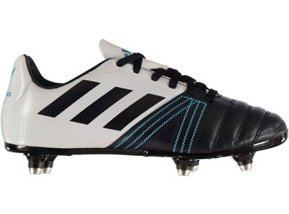 adidas All Black SG Junior Boys Rugby Boots
