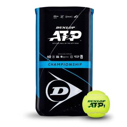 Dunlop ATP 2 x 4 Tube Tennis Balls