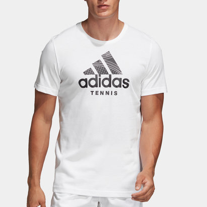adidas Tennis Logo Shirt Mens