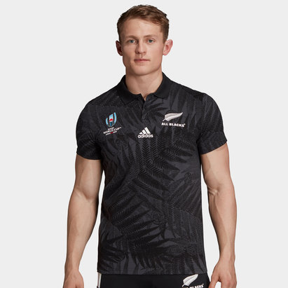 adidas New Zealand All Blacks RWC 2019 Supporter Rugby Shirt