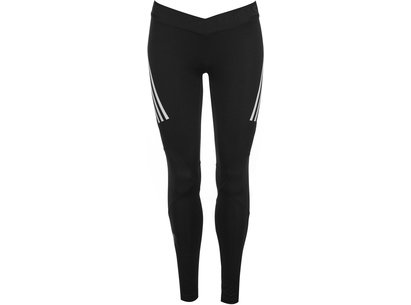 adidas Alphaskin Sport 3 Stripe Tights Ladies