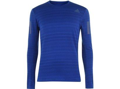 adidas RUN R Long Sleeve T Shirt Mens