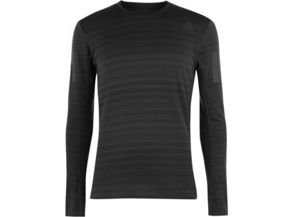 adidas RUN R Long Sleeve T Shirt Mens