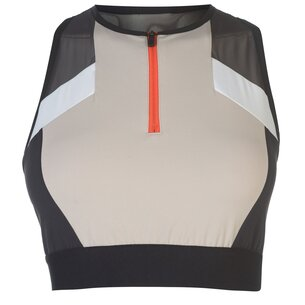 Reebok Colour Block Crop Top Ladies