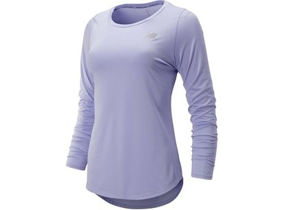 New Balance Accelerate Long Sleeve T Shirt Ladies