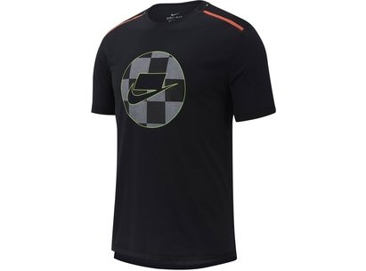 Nike Wild Run T Shirt Mens