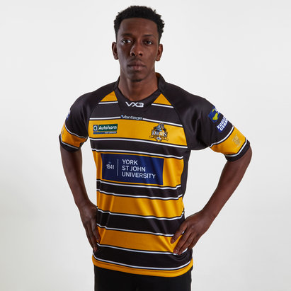 VX3 York City Knights 2019 Home Replica Rugby League Shirt