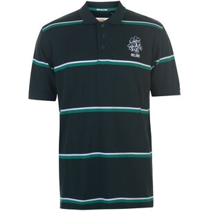 Team Rugby 2019 Stripe Polo Shirt Mens
