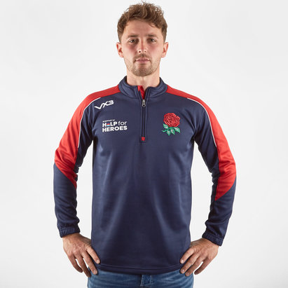 VX3 Help for Heroes England 2019/20 Half Zip Sweat