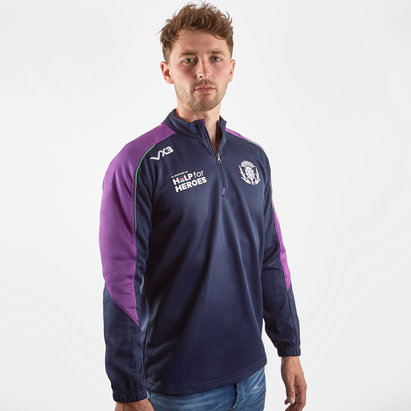 VX3 Help for Heroes Scotland 2019/20 Half Zip Rugby Sweat