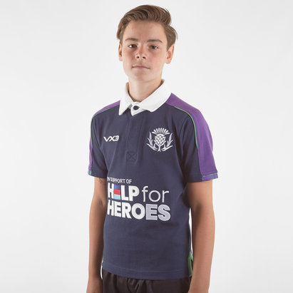 VX3 Help for Heroes Scotland 2019/20 Kids Rugby Shirt