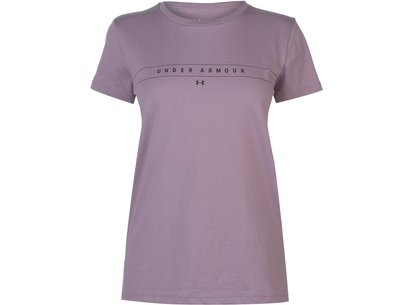 Under Armour Wordmark T Shirt Women